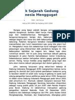 Tapak Sejarah Gedung Indonesia Menggugat