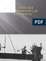 Factores de La Produccion Que Intervienen en Los Accidentes