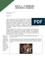 Webquest n III Trimestre Historia