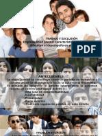 Ppt Avance Trabajo y Exclusion 1