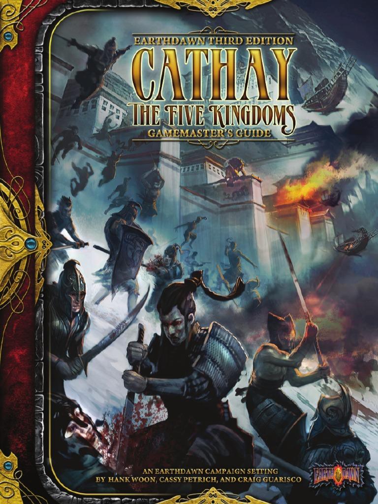 promo code cfb80 7c822 (ED3) Cathay the Five Kingdoms - Gamemaster s Guide - Copy   Dumpling    Vegetables