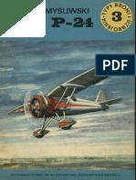 TBiU 003 - Samolot Myśliwski PZL P-24