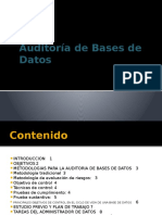 Tema 02 Auditoria Sobre Bases de Datos