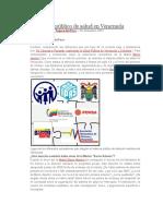 El Sistema Público de Salud en Venezuela