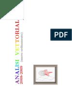 Appunti Del Corso Di Analisi Vettoriale - AUT. Lamberti L.