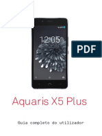 BQ Aquaris X5 Plus Guia Completo Do Utilizador