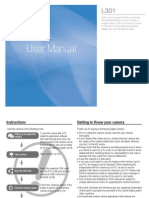 Samsung Camera L301 User Manual