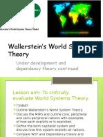 Wallerstein's World System Theory