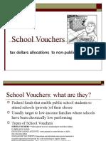 school vouchers presentation