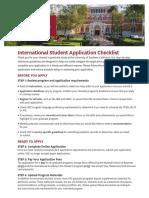 16 -Intl App Checklist4-0