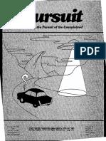 PURSUIT Newsletter No. 75, Third Quarter 1986 - Ivan T. Sanderson