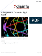 A Beginner's Guide to Sigil Craft - Disinformation