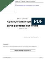 Continuerlalutte Com Les Partis Politiques Sur Le Web a3639