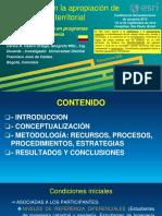 Uso GIS en la Apropiación Conocimiento Territorial_Carlos Hernan Castro_ppt
