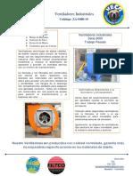 Catalogo Za-0401-010 - Ventiladores Industriales