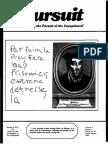 PURSUIT Newsletter No. 82, Second Quarter 1988 - Ivan T. Sanderson