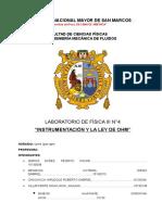 Informe de Laboratorio-4 Ley de Ohm