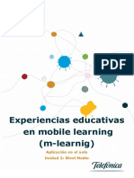 Experiencias Educativas en Mobile Learning
