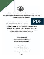 CICLOTURISMO EN ECUADOR
