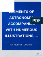 Elements of Astronomy - Accompanied With Numerous Illustrations
