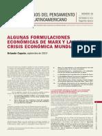 Caputo, Orlando (2016) Algunas Formulaciones Economicas de Marx y La Actual Crisis Economica Mundial. CLACSO - CuadernoPCL-N38-SegEpoca