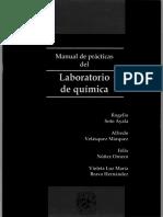 Manual de Practicas Del Laboratorio de Quimica