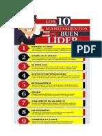10 Mandamientos de Un Lider