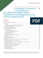 Australia Acute Coronary Syn