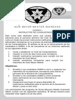 Requisitos Guía Mayor Master Avanzado
