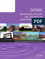 DIOMIS Benchmarking Intermodal Rail Transport in the US and Europe