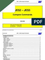JES2-JES3 Compare Commands