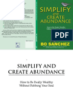 Simplify and Create Abundance
