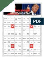 Newsweek Clinton V. Trump Debate Bingo, Round 2!