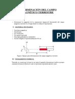 Determinación Del Campo Magnético Terrestre (g)