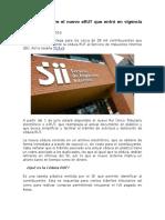 Chile Todo Sobre El Nuevo ERUT Que Entró en Vigencia Este 1 de Julio