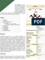 Glicerol - Wikipedia, La Enciclopedia Libre