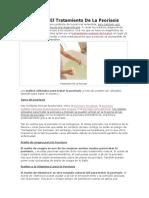 Aceites Para El Tratamiento de La Psoriasis
