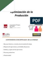 Optimizacion de La Produccion