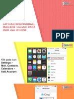 Konfigurasi Mailbox 1GovUC Pada iOS .pptx