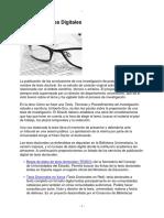 Tesis doctorales digitales