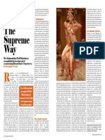 Article in on Stage Magazine