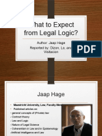 What to Expect From Legal Logic