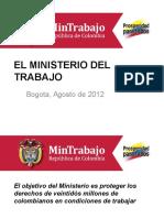 El Ministerio Trabajo