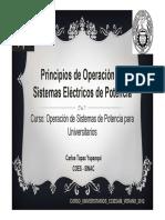 3. Principios de Operación de SEPs
