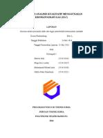 Praktikum Analisis Kualitatif Menggunakan Kromatografi Gas (Glc)