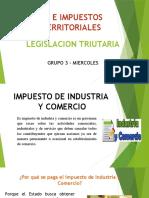 Ica e Impuestos Territoriales Diapositivas