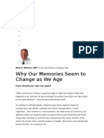 Why Our Memories Seem to Change