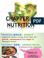 Chapter 6a Nutrition