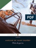 Piloto de Guerra - Antoine de Saint-Exupery