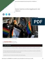 Convocan Multitudinaria Marcha Contra Legalización Del Matrimonio Gay en México _ CNNEspañol